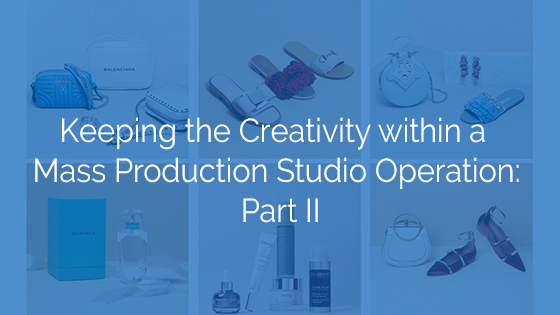 Creativity within a Mass Production Studio Operation: Part II