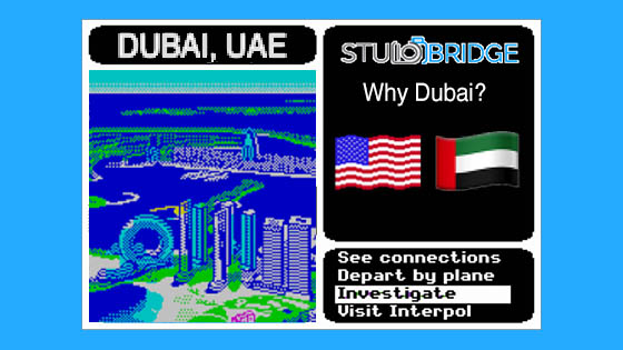 Why Dubai?